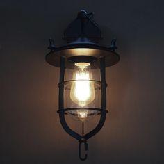 wall lamp vintage industrial retro lampara de pared Mirror Bathroom cafe bar Lights iron Sconces Indoor decoration Lighting #Affiliate