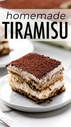 How to make Maida Heatters famous tiramisu! This unbelievably creamy and rich layered tiramisu combines espresso Grand Marnier rum eggs mascarpone vanilla and whipped cream. Italian dessert recipe on sallysbakingaddic Oreo Dessert, Dessert Dips, Coconut Dessert, Dessert Aux Fruits, Cannoli Dessert, Pecan Desserts, Brownie Desserts, Mini Desserts, Easy Desserts