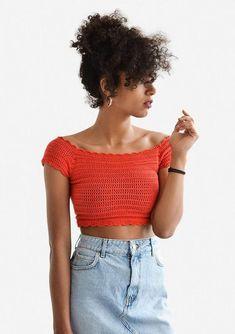 Crochet Bandeau Tops, Crochet Summer Tops, Crochet Crop Top, Crochet Cardigan, Cute Crochet, Crochet Bikini, Knit Crochet, Crochet Bodycon Dresses, Black Crochet Dress
