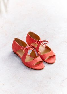 Sézane - Pré collection Printemps Sunrise www.sezane.com Sandales Low Livio #sezane #precollection #printemps #sunrise