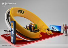 Jetex on Behance Exhibition Stall Design, Exhibition Display, Exhibition Space, Exhibition Stands, Exibition Design, Kiosk Design, Pop Display, Freelance Graphic Design, Stand Design