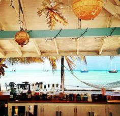 have a beach bar