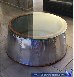 🚨NOUVEAUTÉ 🚨 Table basse aviator verre Seulement - 699€- sur www.beknitdesign.com http://urlz.fr/4hVx Profitez-en vite seulement 2 de disponibles