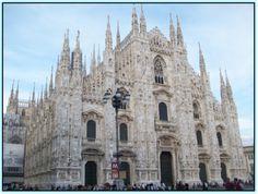 Portico de la Catedral de Milan