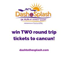 JUST ANNOUNCED! Win two round trip tickets to a destination of your choice aboard Branson AirExpress Choose from Austin, Cancun Mexico, Chicago, Cincinnati, Denver, Houston or New Orleans. Flights depart from the Branson Airport! Register today! #dash15 #5k #race