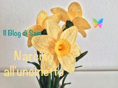 Ciao a tutti, oggi vi propongo la spiegazione del narciso all'uncinetto in una variante un po' più grande. Bellissimo fiore anche abbastanza facile da ricrea...