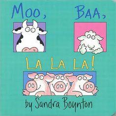 One of our favorite Sandra Boynton books