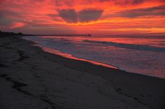 Winter Sunrise-Long Beach in Oak Island, NC