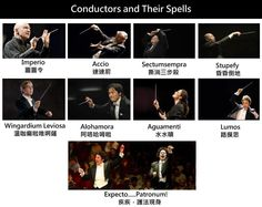Conductors & their spells. H/T: Eric Whitacre's FB page.