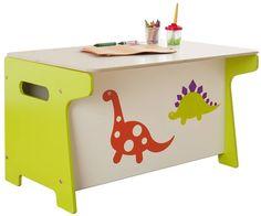 dinosaur toy box and desk by millhouse   notonthehighstreet.com