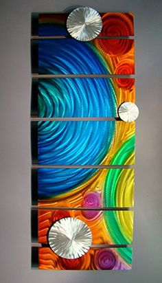 Design Moroccan Clover Medallion Orange Blue Black Home Fashions Non Slip Coco Door Mat 23.6 X 15.7 Inch Indoor//Outdoors
