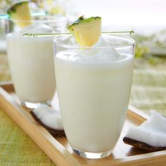 Fruttare Piña Colada-- it's like summer in a cup. #Cocktails