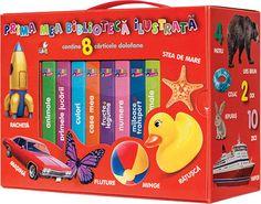 - Pachet: Bebe invata. Prima mea biblioteca ilustrata - Lunch Box, Books, Kids, Presents, Full Bed Loft, Young Children, Gifts, Libros, Boys