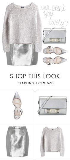 """Aren't you lovely?"" by theapapa ❤ liked on Polyvore featuring Miu Miu, Proenza Schouler, Yves Saint Laurent and MTWTFSS Weekday"
