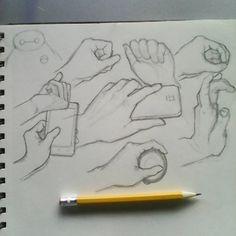 Practice #hands #drawing #practice #instaart #sketchbook #pencil