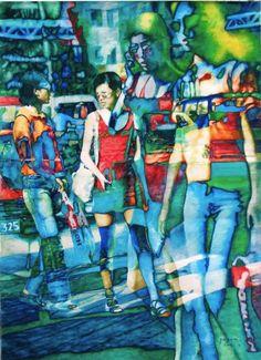 IWS 2012. Yang Wen. The Outside World. 72х100