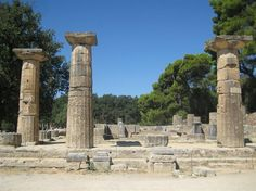 Temple of Hera at Ancient Olympia