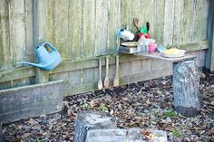 Teach Your Children Well: Outside play kitchen