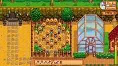 Stardew Farms, Stardew Valley Farms, Stardew Valley Layout, Stardew Valley Tips, Farm Layout, Game Concept Art, Farm Life, Animal Crossing, Instagram