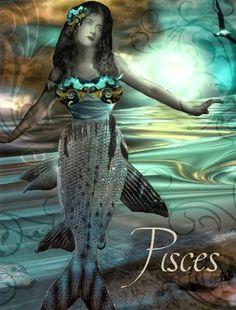 AstroSpirit / Pisces ♓ / Water / Poissons / The Fish / par Hannah Blue
