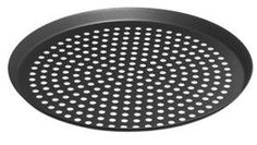 LloydPans Perforated Pizza Cutter Pan PreSeasoned PSTK Anodized Aluminum 14 Inch by 75 Inch deep Case of 12 * More info could be found at the image url.