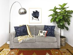 Step 5: Finish The Look With Throws And Pillows - ELLEDecor.com