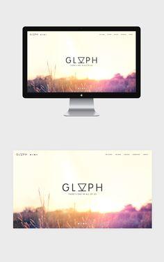 Glyph on Behance