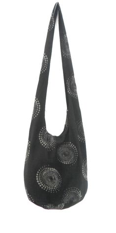 Shoulder Bag Cross Body Bag Handmade Bag Artistic Bag Hobo Crossbody Bag Hippie Boho bohemian bag Purse Gift / Black Grey Color Sling bag by Avivahandmade on Etsy
