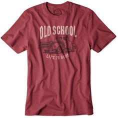 Old School Truck Crusher T-Shirt by Life is good