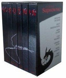 Wiedźmin - cała seria Sapkowski A.  6916 głosów Saga