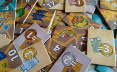 Treasure Hunter tiles