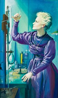 Marie Curie (Original) (Signed)