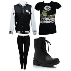 """My Chemical Romance"" by psychosocialx on Polyvore"