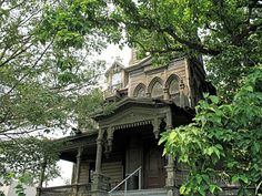 Webster Wagner Mansion 15 East Grand Street Palatine Bridge, New York ~ ♥ #abandoned #ruins #architecture