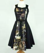 Edgar Allen Poe Inspired Dress