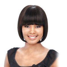 It's a wig It's a cap weave 100% Human Hair Cloris