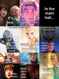 jack frost and elsa comic - Google Search