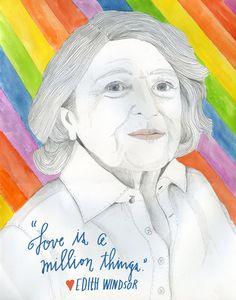 Edie Windsor, Patron Saint of Modern Love | Brain Pickings