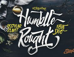 """Check out new work on my @Behance portfolio: """"Humblle Rought Typeface"""" http://be.net/gallery/34228073/Humblle-Rought-Typeface"""