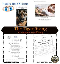 The Tiger Rising- A Complete Novel Study Pre Reading Activities, Sight Word Activities, Reading Lessons, Going Back To College, Comprehension Questions, Study Skills, Close Reading, Summer School, Graphic Organizers
