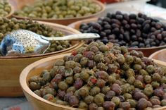 Olives are ideal for a low carb diet