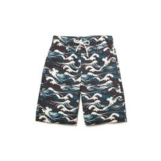 KIDS SWIM SHORTS IN WAVE PRINT NYLON LACOSTE INFANTIL GUAPOLOGIA Kids Swim  Shorts, Kids Swimming 8380c0f84a