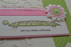 Gothdove Designs - Alison Barclay:  Stampin' Up! Long Fellows stamp set