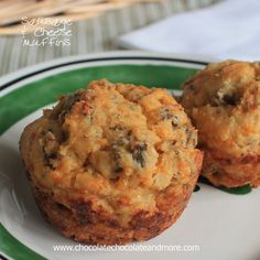 Sausage Cheese Muffins - Chocolate Chocolate and More!