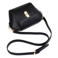 Metallic Hasp PU Leather Crossbody Bag (£13) ❤ liked on Polyvore featuring bags, handbags, shoulder bags, metallic shoulder bag, cross-body handbag, white cross body purse, crossbody purses and crossbody shoulder bags