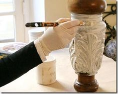 Como fazer a pátina provençal em seus móveis e objetos