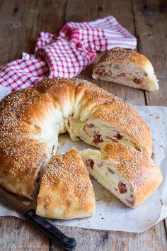 Antipasto, Fourth Of July Cakes, Apple Cake, Cata, Snacks, Easter Recipes, Bagel, Finger Foods, Italian Recipes
