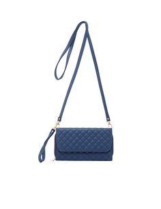 Quilted Detachable Strap Crossbody Bag   Charlotte Russe