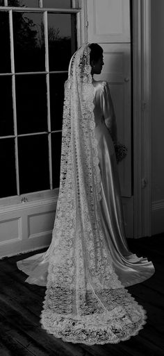 The History of the Bridal Veil: A Guest Post by Lucy Hayes. Love the veil.