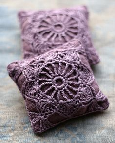 Lavender sachets by namolio, via Flickr